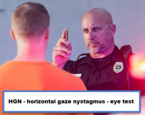 HGN eye testing in Alabama