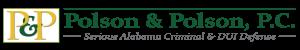 Alabama DUI Attorney | DUI Defense in Alabama | Polson & Polson