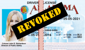 Alabama Drivers License revoked after Administrative Drivers License Suspension in AL