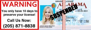 Mountain Brook Alabama Drunk Driving Lose License