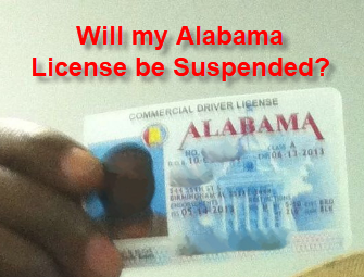 Driver's License Suspension for Alabama Felony DUI