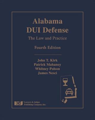 Alabama DUI Defense